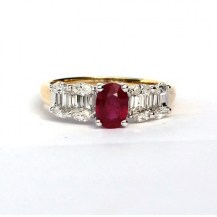 baguette-&-marquise-diamond-with-a-1ct-ruby-$39951